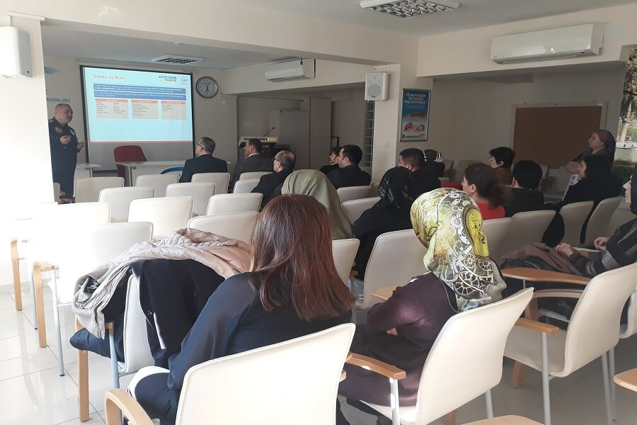 Amasya AFAD İl Müdürlüğü Personelimize Eğitim Verdi