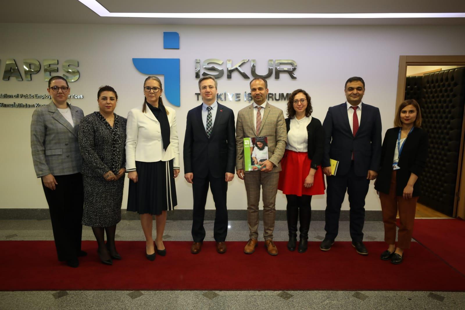 Genel Müdür Vekilimiz, Birleşmiş Milletler Dünya Gıda Programı (WFP) Türkiye Direktörünü Kabul Etti