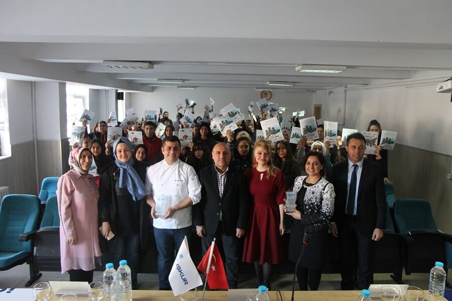 Kayseri'de Meslek Tanıtım Günleri Etkinliği Gerçekleştirdik
