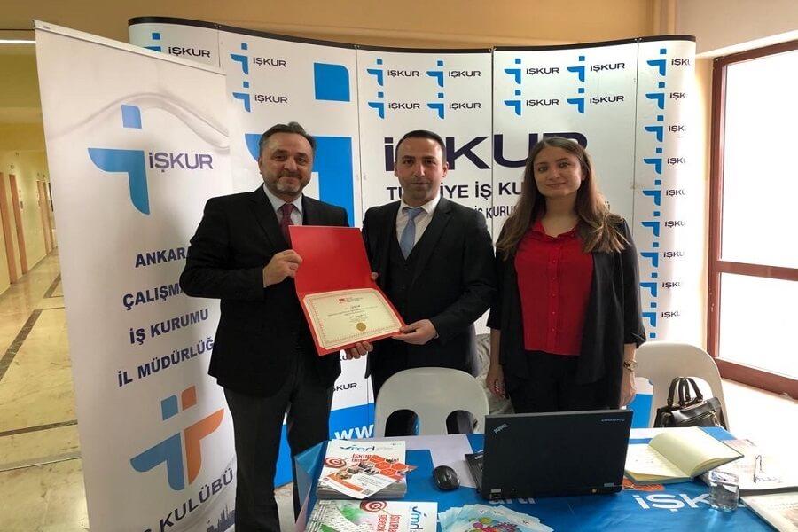Ankara Hacı Bayram Veli Üniversitesi Kariyer Günü Etkinliğinde Stant Açtık
