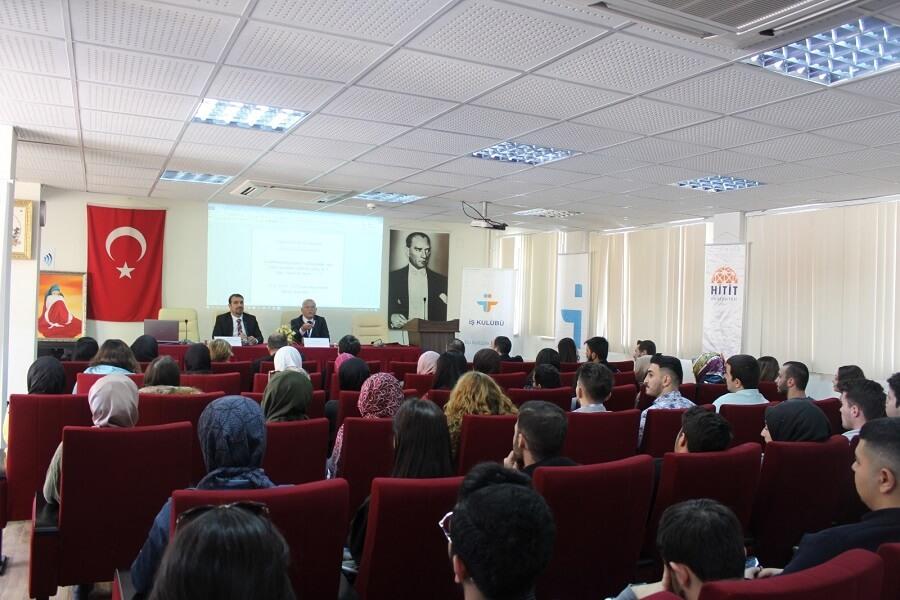 """Hitit Üniversitesinde """"Girişimcilik ve Kariyer Günü"""" Etkinlikleri Düzenledik"""