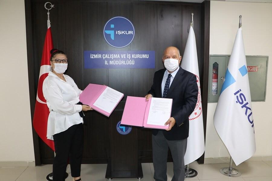 İzmir'de İş Hayatında Ben de Varım Projesini İmzaladık
