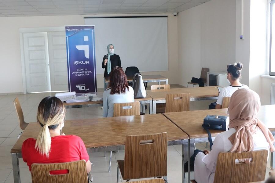 Gaziantep'te İşbaşı Eğitim Programı Başlattık