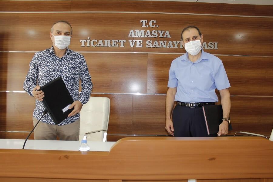 Amasya'da MEGİP Kapsamında Protokol İmzaladık