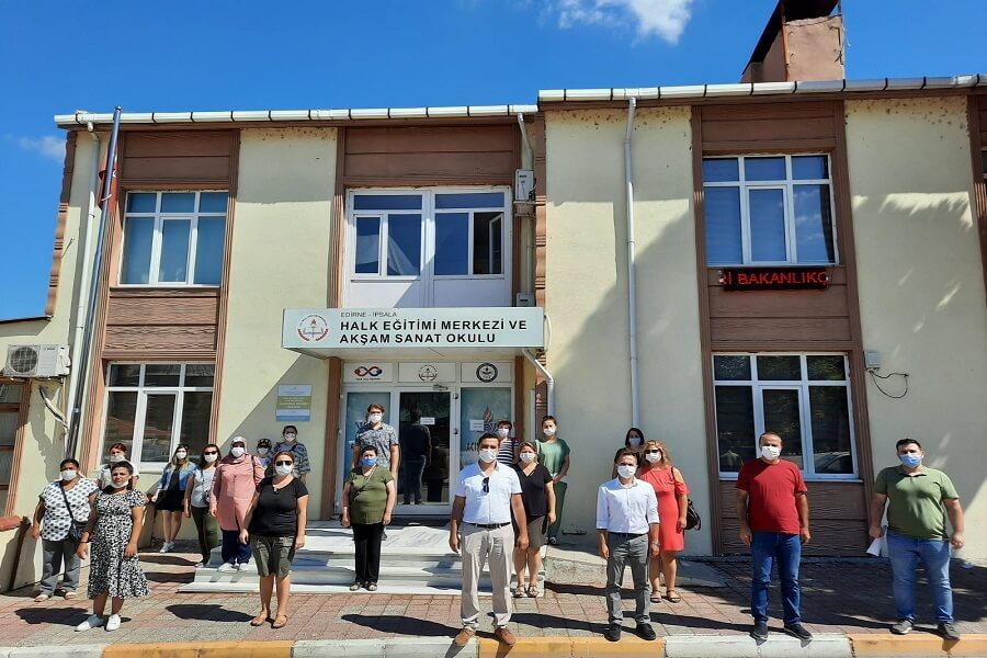 Edirne'de Mesleki Eğitim Kursu Başlattık
