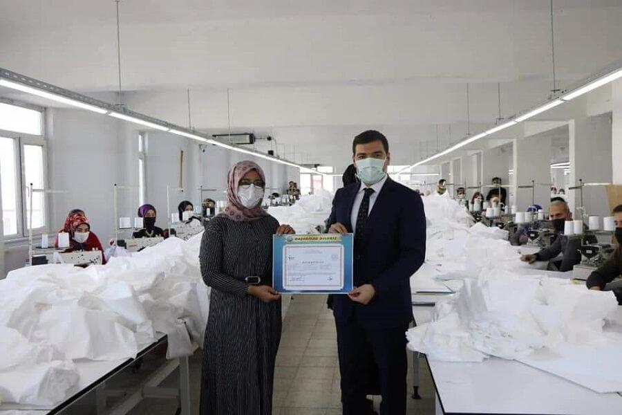 Sivas'ta İstihdam Garantili Mesleki Eğitim Kursu Düzenledik