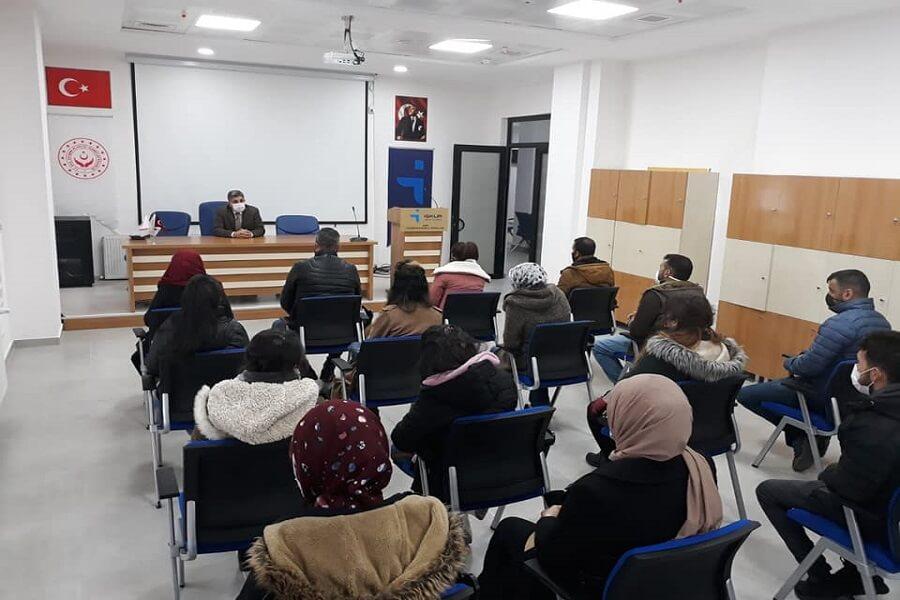 Kars'ta İşbaşı Eğitim Programı Başlattık