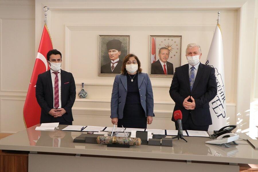 Gaziantep Büyükşehir Belediyesi İle MEGİP Kapsamında Protokol İmzaladık