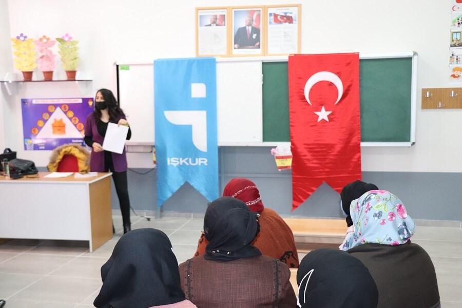 Ağrı'da Mesleki Eğitim Kursu Başlattık