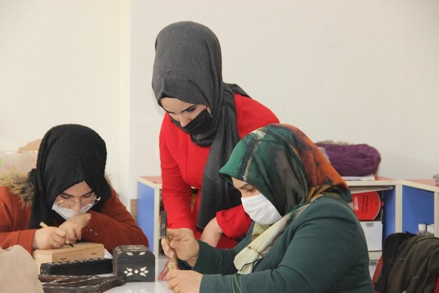 Şanlıurfa'da Mesleki Eğitim Kursu Açtık