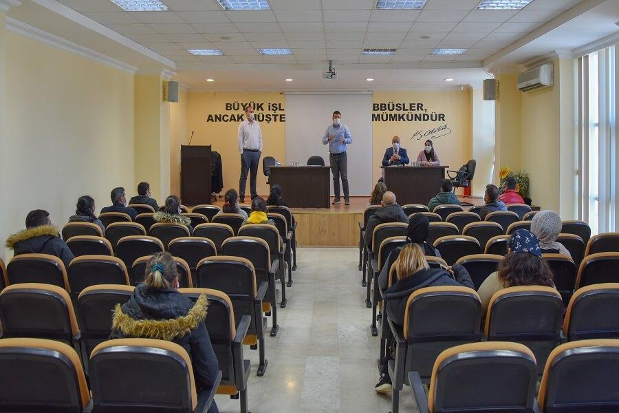 Aydın'da İşbaşı Eğitim Programı Açılışı Gerçekleştirdik