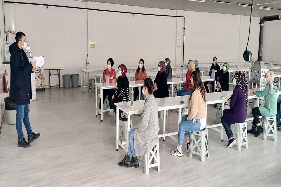 Amasya'da MEGİP Kapsamında Kurs Başlatıldı
