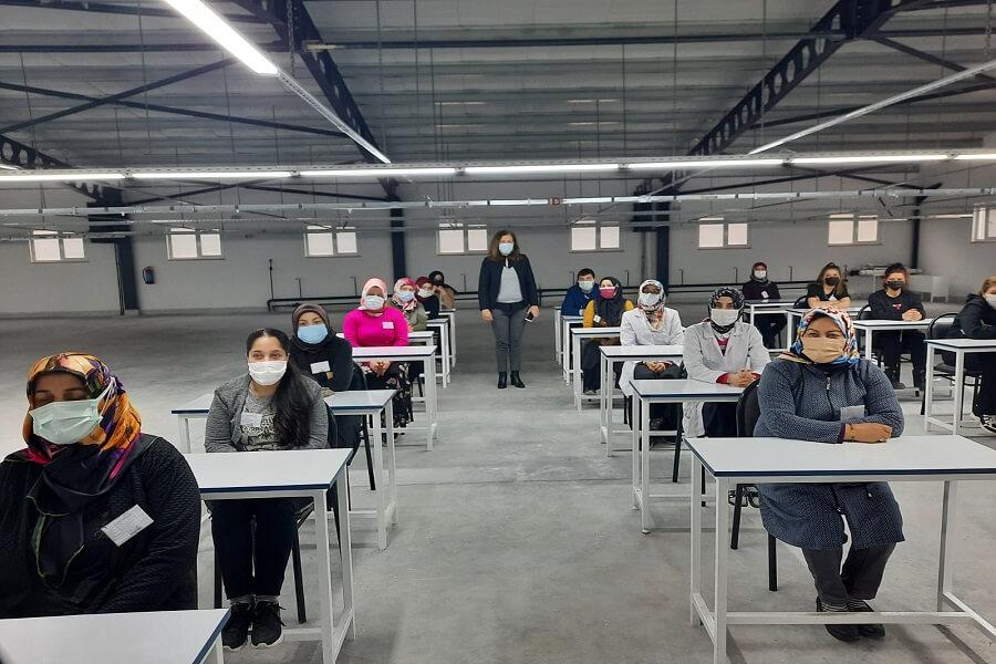 Kastamonu'da Mesleki Eğitim Kursları Başlattık