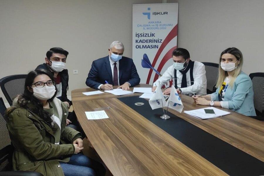 Ankara'da Geleceğin Meslekleri Kapsamında Protokol İmzaladık