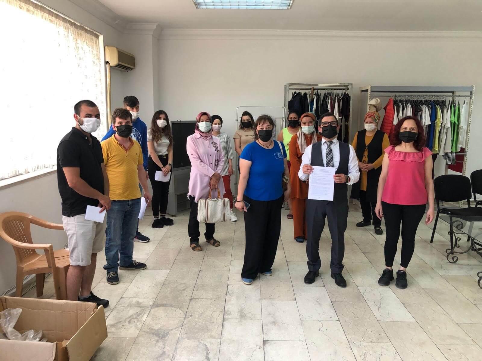 Zonguldak'ta 10 Kişiyi İstihdam Edecek İşbaşı Eğitim Programı Başlattık
