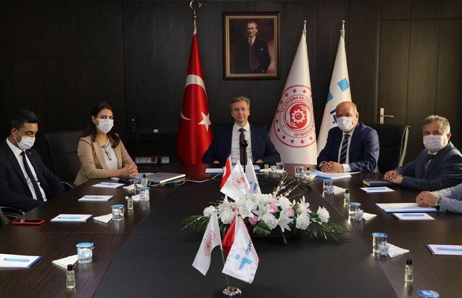 Genel Müdürümüz Bekir Aktürk İzmir'de İşverenlerle Temasta Bulunarak Ege Bölgesi Koordinasyon Toplantısını Gerçekleştirdi