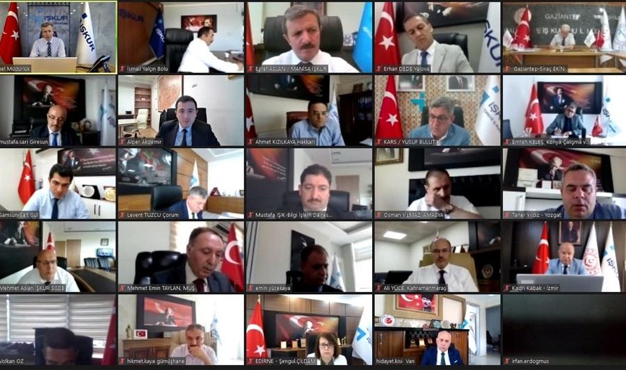 Genel Müdürümüz Bekir Aktürk 81 İl Müdürlüğü Yöneticilerimizle Görüştü