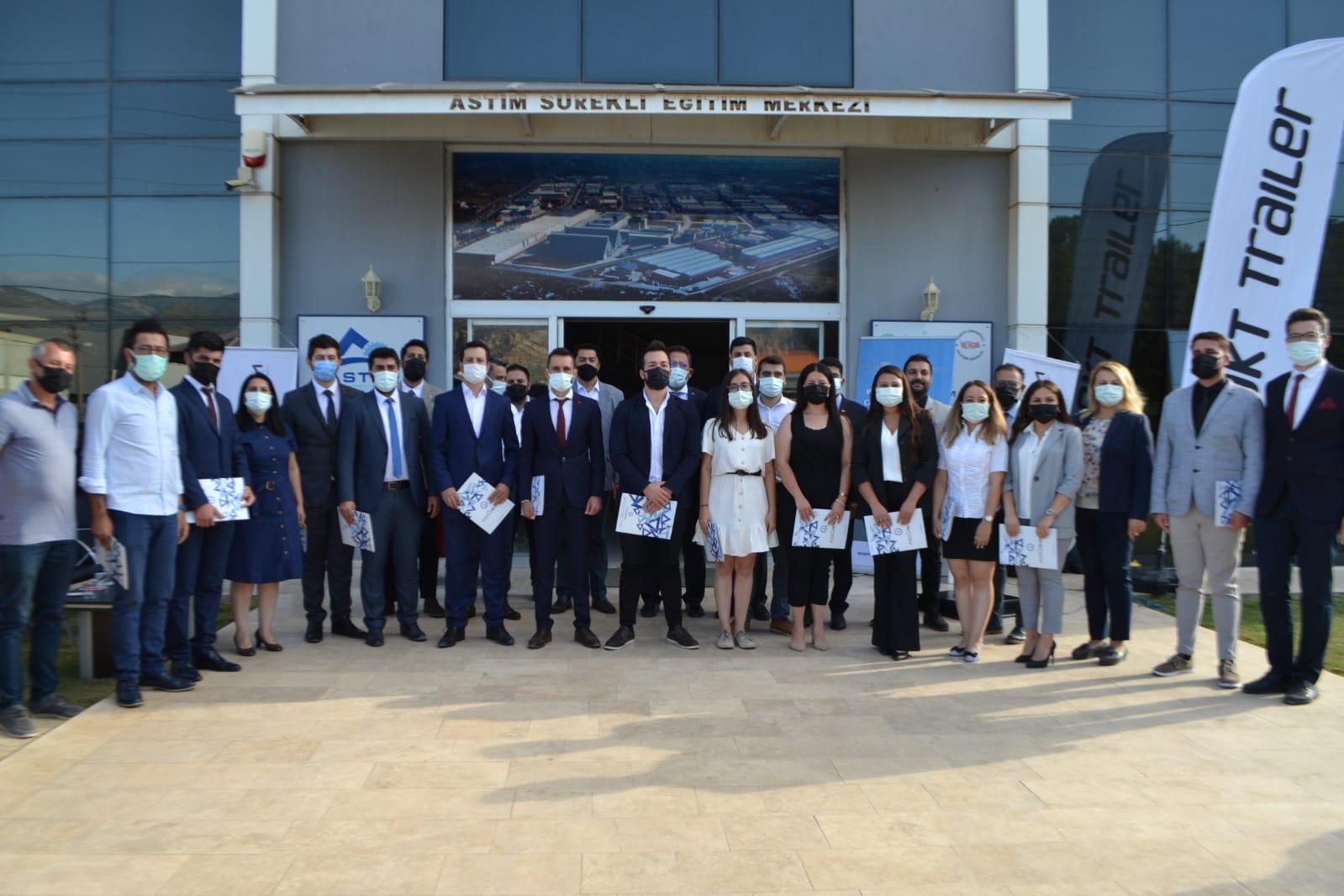 Aydın'da Kurslarını Başarıyla Bitiren Katılımcılara Sertifikaları Verildi