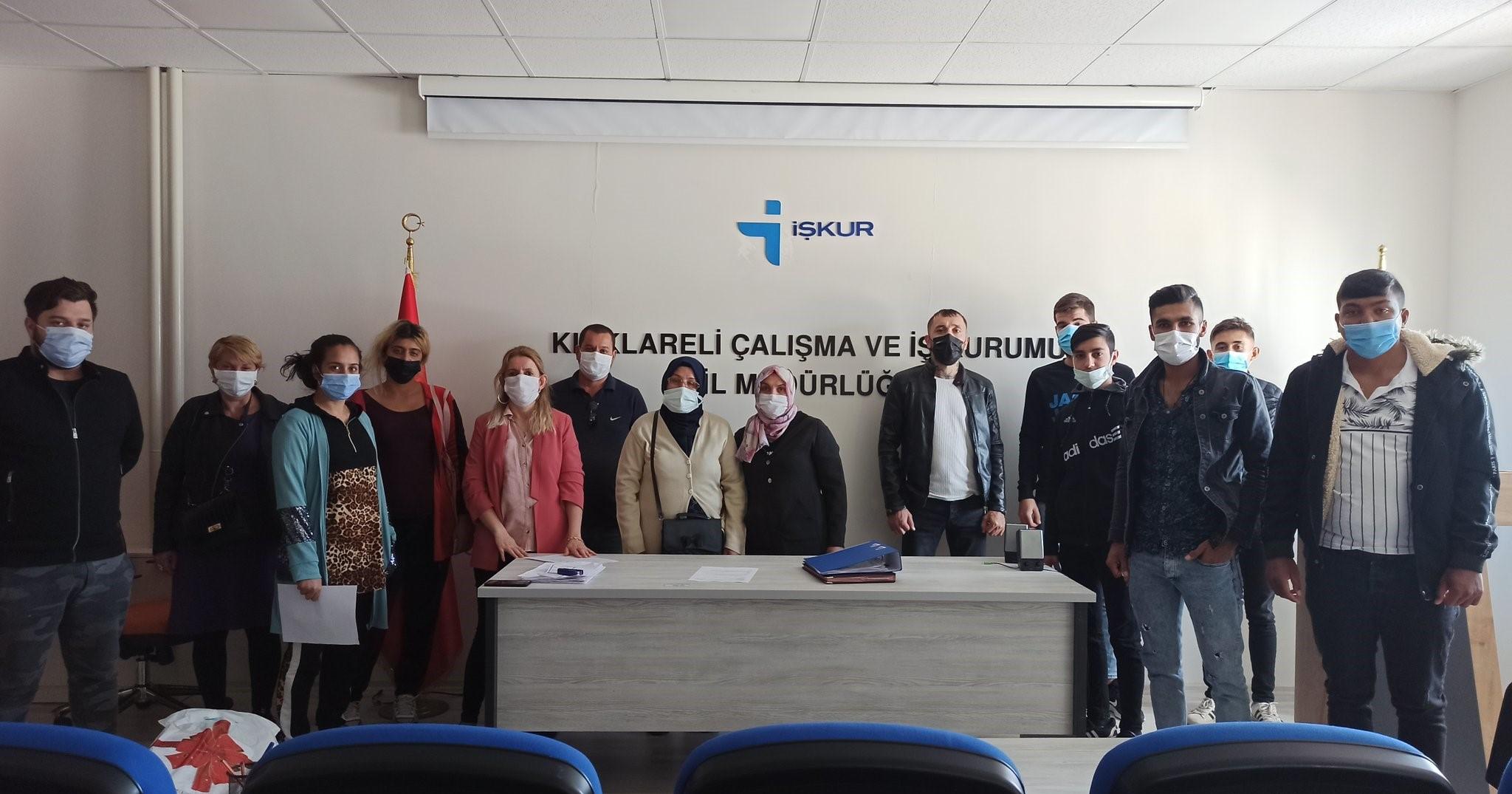 Kırklareli'nde İşbaşı Eğitimi Protokolü İmzaladık